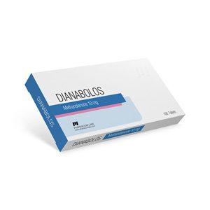 Methandienone oral (Dianabol) 10mg (100 pills) by Pharmacom Labs