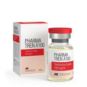 Trenbolone acetate 10ml vial (100mg/ml) by Pharmacom Labs