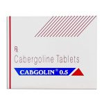 Cabergoline (Cabaser) 0.25mg (4 pills) by Sun Pharma