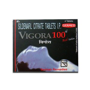 Sildenafil Citrate 100mg (4 pills) by Indian Brand