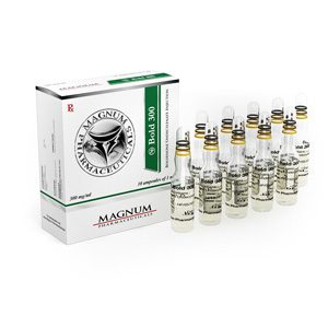 Boldenone undecylenate (Equipose) 10 ampoules (300mg/ml) by Magnum Pharmaceuticals