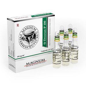 Drostanolone propionate (Masteron) 5 ampoules (100mg/ml) by Magnum Pharmaceuticals