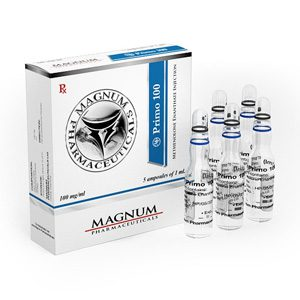 Methenolone enanthate (Primobolan depot) 5 ampoules (100mg/ml) by Magnum Pharmaceuticals