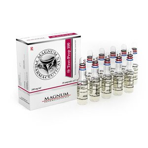 Testosterone propionate 10 ampoules (100mg/ml) by Magnum Pharmaceuticals