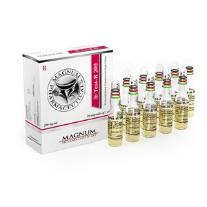 Sustanon 250 (Testosterone mix) 10 ampoules (200mg/ml) by Magnum Pharmaceuticals
