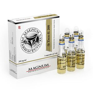 Trenbolone enanthate 5 ampoules (200mg/ml) by Magnum Pharmaceuticals