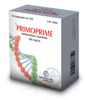 Methenolone acetate (Primobolan) 10 ampoules (100mg/ml) by Eminence Labs