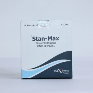 Stanozolol injection (Winstrol depot) 10 ampoules (50mg/ml) by Maxtreme
