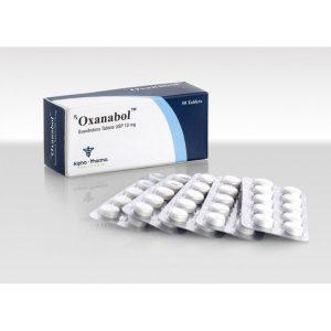 Oxandrolone (Anavar) 10mg (50 pills) by Alpha Pharma