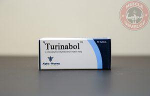 Turinabol (4-Chlorodehydromethyltestosterone) 10mg (50 pills) by Alpha Pharma