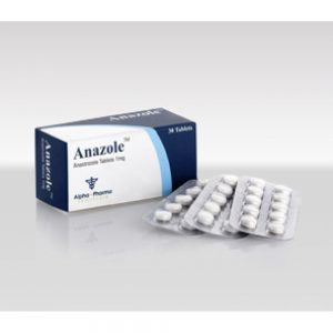 Anastrozole 1mg (30 pills) by Alpha Pharma