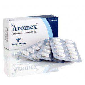 Exemestane (Aromasin) 25mg (30 pills) by Alpha Pharma