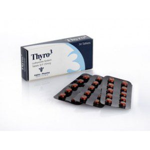 Liothyronine (T3) 25mcg (30 pills) by Alpha Pharma