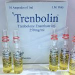 Trenbolone enanthate 10 ampoules (250mg/ml) by Alpha Pharma