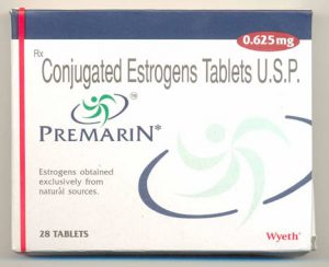 Premarin 0.625mg (28 pills) by Pfizer