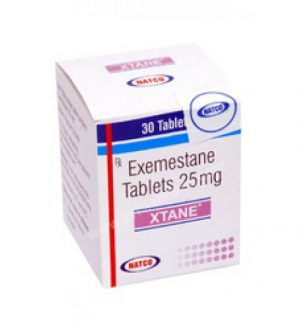 Exemestane (Aromasin) 25mg (28 pills) by Natco Pharma