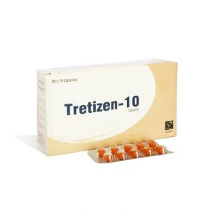 Isotretinoin (Accutane) 10mg (10 capsules) by Zenlabs