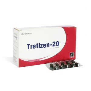 Isotretinoin (Accutane) 20mg (10 capsules) by Zenlabs