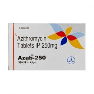 Azithromycin 250mg (6 pills) by Parth
