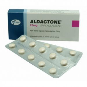Aldactone (Spironolactone) 25mg (30 pills) by RPG