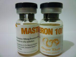 Drostanolone propionate (Masteron) 10 mL vial (100 mg/mL) by Dragon Pharma