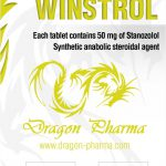 Stanozolol oral (Winstrol) 50mg (100 pills) by Dragon Pharma