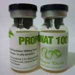 Testosterone propionate 10 ampoules (100mg/ml) by Dragon Pharma