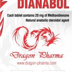 Methandienone oral (Dianabol) 20mg (100 pills) by Dragon Pharma