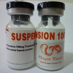 Testosterone suspension 10 mL vial (100 mg/mL) by Dragon Pharma
