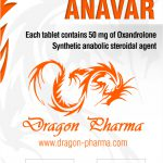 Oxandrolone (Anavar) 50mg (100 pills) by Dragon Pharma