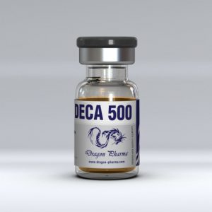 Nandrolone decanoate (Deca) 10 ml vial (500 mg/ml) by Dragon Pharma