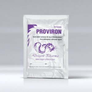 Mesterolone (Proviron) 25mg (100 pills) by Dragon Pharma