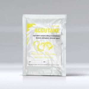 Isotretinoin (Accutane) 20mg (100 pills) by Dragon Pharma